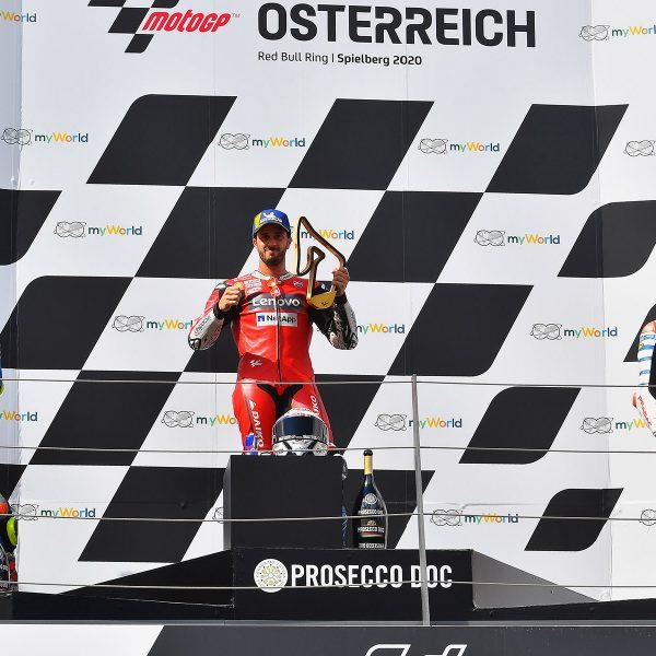 Avusturya MotoGP Yarışını Andrea Dovizios Kazandı